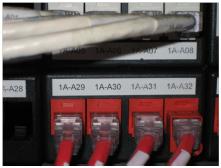 Schema Impianto Cablaggio Strutturato : Etichettatura del cablaggio strutturato tia a